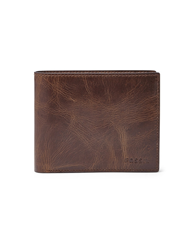 Fossil Derrick RFID Large Coin Pocket Bifold ML3687201