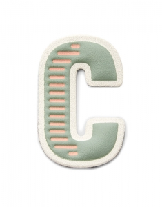 Fossil Letter T Sticker SL7098998