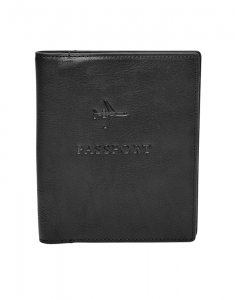 Fossil Leather RFID Passport Case MLG0358001