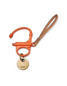 Fossil Cole Snap Shackle Keyfob MLG0452600