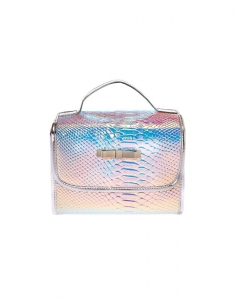 Claire's Holographic Roll Travel Makeup Bag 74177