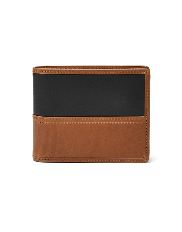 Portofel Fossil Tate RFID Large Coin Pocket Bifold ML3846222