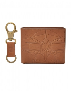 Fossil Axel Large Coin Pocket Bifold and Keyfob ML3969222