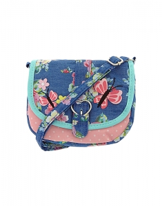 Claire's Kids Garden Party Fabric Crossbody Bag 96991