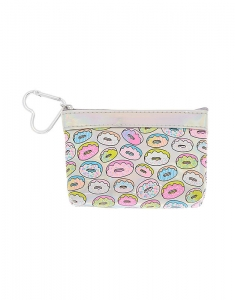 Claire's Holographic Donut Coin Wallet 19750