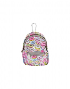 Claire's Holographic Donut Mini Backpack Keyring Coin Purse 27463