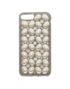 Claire's Oval Pearls Phone Case 65331