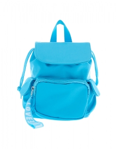 Claire's Nylon Mini Backpack - Blue 28487