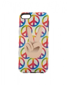 Claire's Holographic Peace iPod Protective Case 10790