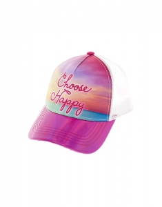 Claire's Choose Happy Baseball Cap 46922