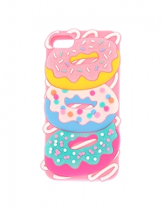 Claire's Glitter Donut iPod Case - Pink 72859