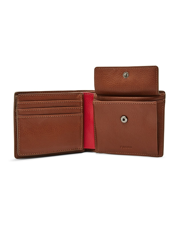 Portofel Fossil Jerome Large Coin Pocket Bifold ML4029222