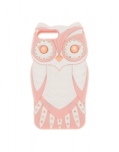 Claire's Glam Owl Phone Case - Pink 96726