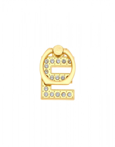 Claire's Gold Initial Ring Stand - E 98493