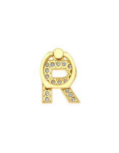 Claire's Gold Initial Ring Stand - R 98510