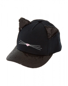 Claire's Black Cat Hat 17826
