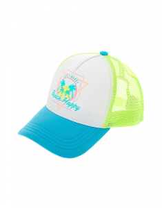 Claire's Neon Colour Changing Beach Happy Baseball Cap 8176