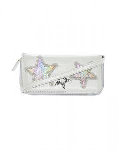 Claire's Reversible Sequin Rainbow Star Crossbody Wallet 4469
