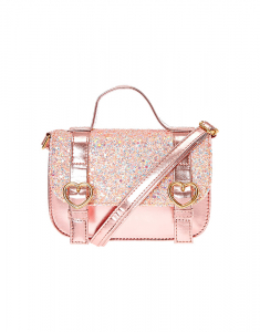 Claire's Club Pink Glitter Bag 41964