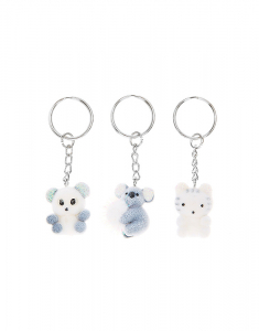 Claire's Koala & Friends Keyrings - 3 Pack 4382