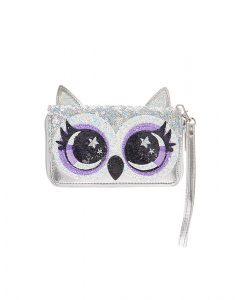 Claire's Avery the Owl Sequin Wallet 17246