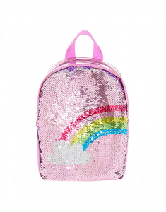 Claire's Club Reversible Sequin Backpack 1988