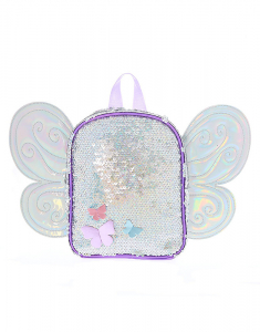 Claire's Club Holographic Wings Backpack 2003
