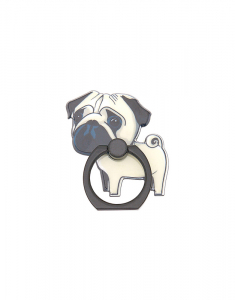 Claire's Sad Pug Ring Stand 1710