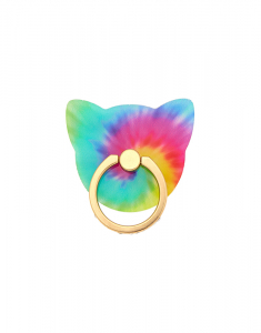 Claire's Tie-Dye Cat Ring Stand 38342