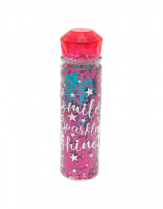 Claire's Sparkle Water Bottle 34830