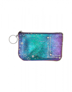 Claire's Rainbow Star Studded Initial Coin Purse - L 76194