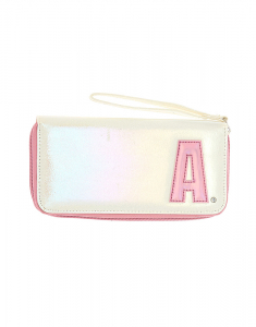 Claire's Pearlescent Initial Wristlet - A 72082
