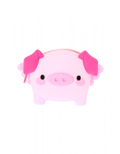 Claire's Poppy the Pig Jelly Coin Purse 18563