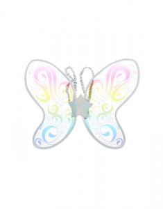 Claire's Club Rainbow Swirl Butterfly Wings 32383