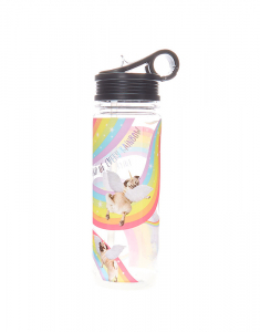 Claire's Doug the Pug™ Unicorn Water Bottle 38686