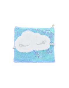 Claire's Furry Sleeping Mask & Makeup Bag Set 14932