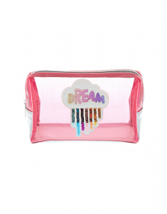 Claire's Glitter Dream Makeup Bag 14936
