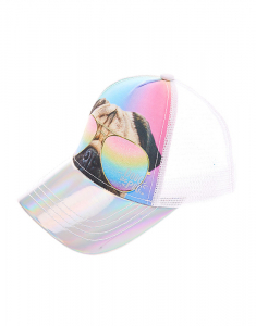 Claire's Doug the Pug® Holographic Baseball Cap 38689