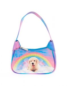 Claire's Club Rainbow Puppy Purse 52049
