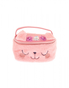 Claire's Club Kitty Flower Makeup Bag 54249