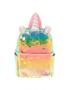 Claire's Holographic Sequin Unicorn Mini Backpack 69717