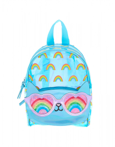 Claire's Cam the Cat Holographic Mini Backpack 23830