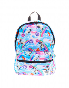 Claire's Doug the Pug™ Unicorn Print Backpack 37691