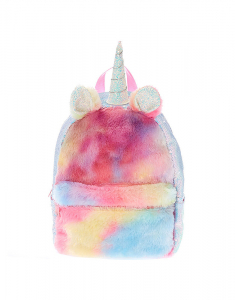 Claire's Pastel Rainbow Unicorn Backpack 36436