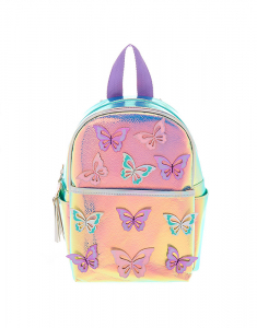 Claire's Holographic Butterfly Mini Backpack 61426