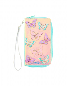 Claire's Holographic Butterfly Wristlet 61403
