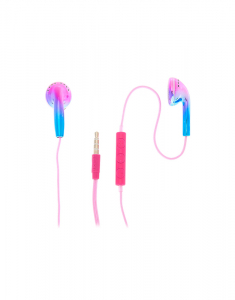 Claire's Ombre Earbuds with Mic 75896