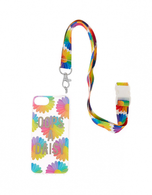 Claire's Oops A Daisy Phone Case With Lanyard 71561