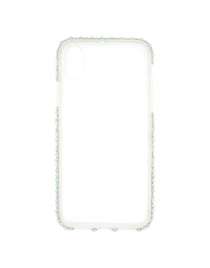 Claire's Iridescent Stone Studded Phone Case 37561