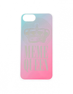 Claire's Meme Queen Phone Case 58516
